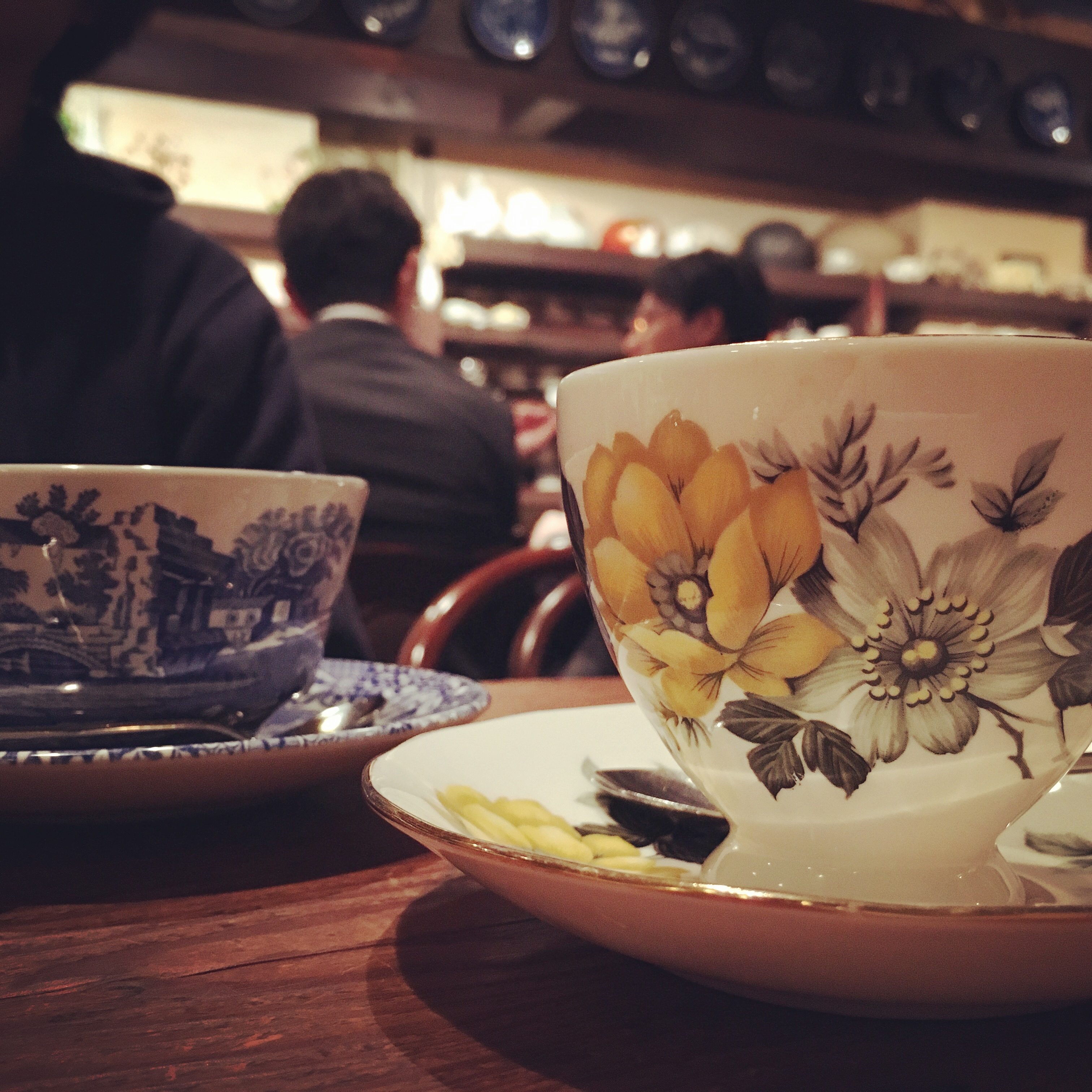茶亭羽當の珈琲カップ