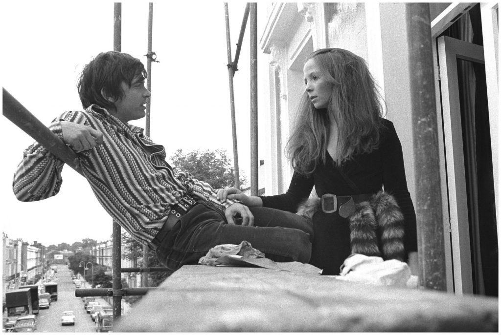 David Bailey and Penelope Tree, London, 1965